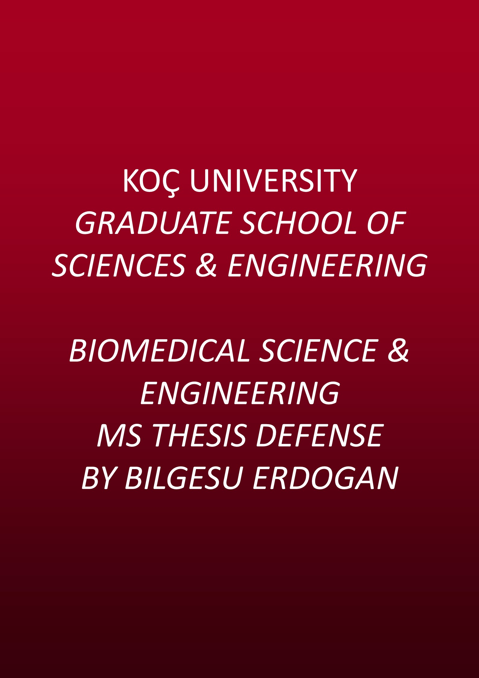biomedical engineering masters