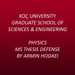 Physics MS Thesis Defense by Armin Hodaei